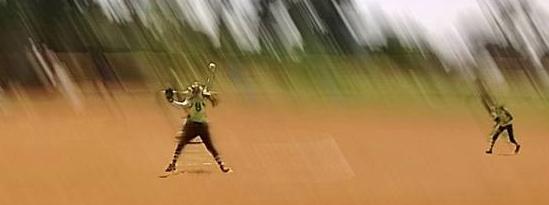 Girls softball photo