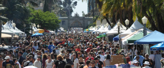 Earth Fair Balboa Park