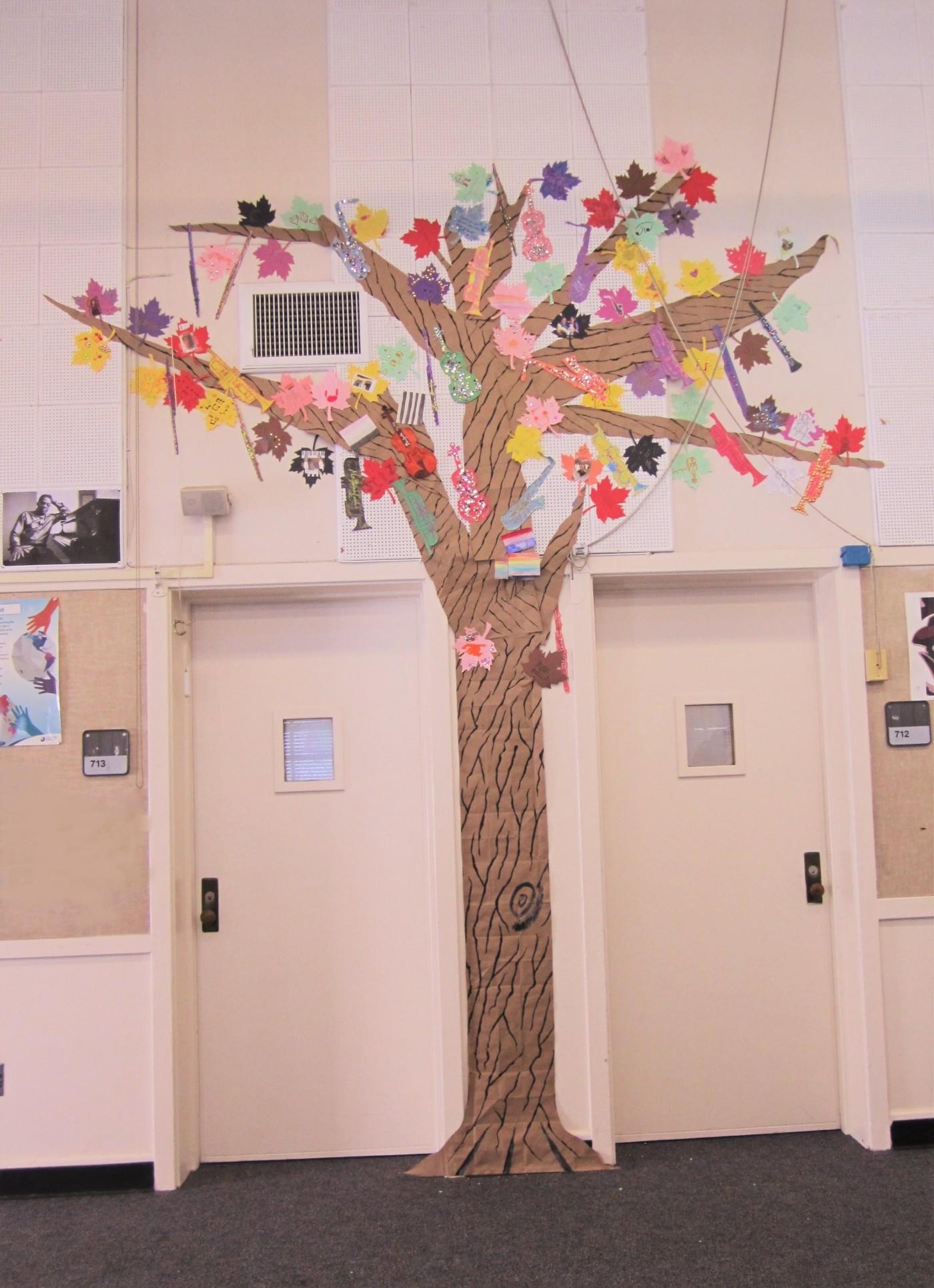 musical tree ecard