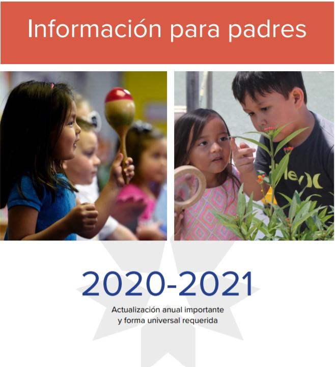 SDUSD Información para padres 2020-21