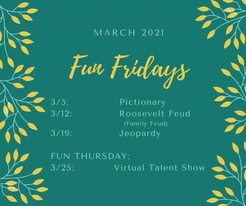 March Fun Fridays